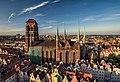 Bazylika Mariacka, widok z wieży ratusza.jpg