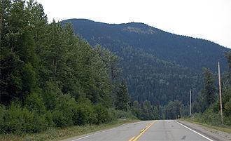 British Columbia Highway 97 - The John Hart Highway