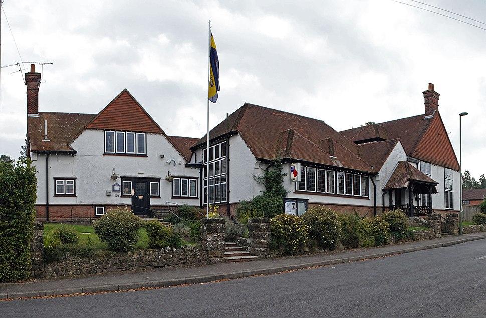 Beacon Hill, Surrey, Village Club. Stitch