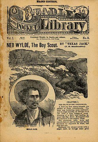 Texas Jack Omohundro - Beadles Dime Novel