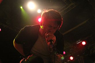 Beartooth (band) - Caleb Shomo performing with Beartooth at the House of Blues in Los Angeles in January 2015