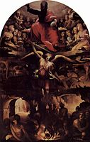 Beccafumi, Domenico - Fall of the Rebel Angels - San Niccolo al Carmine, Siena.jpg