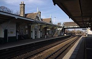 Beeston railway station - Beeston Station in 2012