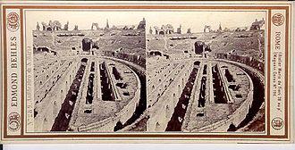 Amphitheatre of Capua - Image: Behles, Edmond (1841 1924) n. 289 Anfiteatro di S. Maria