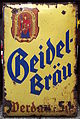 Beidel Bräu enamel advertising sign.JPG