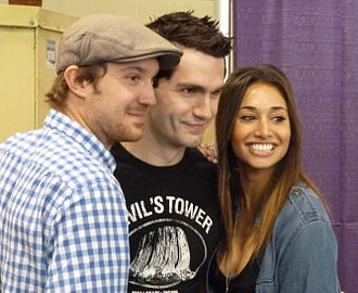 Being Human (North American TV series) - Being Human Cast at the Wizard World Toronto 2012.