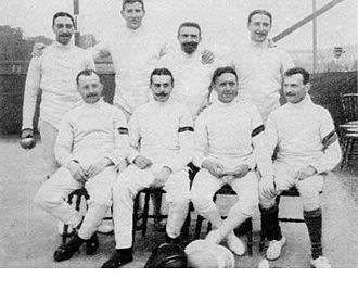 Belgium at the 1912 Summer Olympics - Belgian fencing team at the 1912 Olympic Games