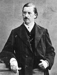 Una foto di Kertbeny (o Benkert) nel 1850/60