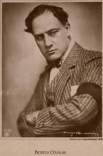 Oscar Beregi (actor, born 1876) Hungarian actor