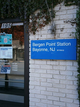 Bergen Point - Image: Bergen Point Station Bayonne