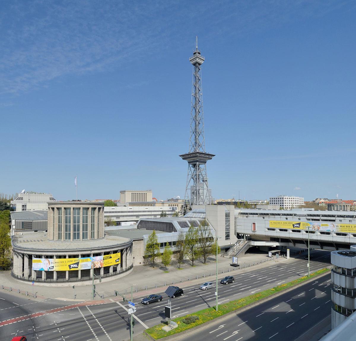 Funkturm berlin wikipedia for Eiffel restaurant berlin