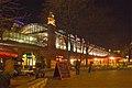 Berlin - Hackescher Markt S-Bahnhof Nacht.jpg