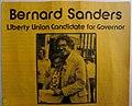 Bernie Sanders 1970s Gubernatorial Campaign Pamphlet (front, top).jpg
