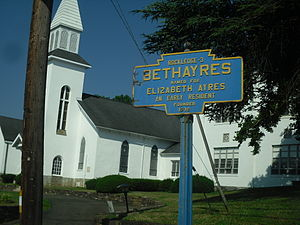 Lower Moreland Township, Montgomery County, Pennsylvania - Bethayres in the township