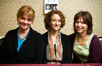 The Evil Dead - Betsy Baker, Ellen Sandweiss, and Theresa Tilly in 2009