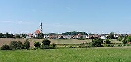 Bettbrunn from the east