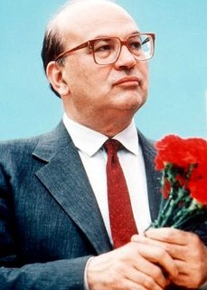 Bettino Craxi Italian politician