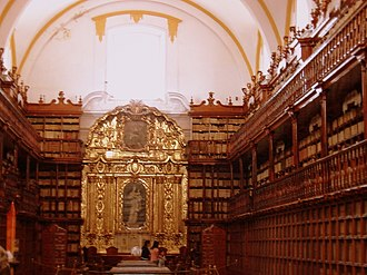 Puebla (city) - The Biblioteca Palafoxiana is the Americas' first public library. Founded by Bishop Juan de Palafox y Mendoza in 1646.
