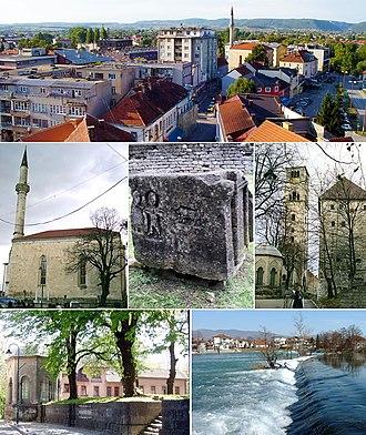 Bihać - Image: Bihać (collage image)