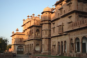 Rajput - During their centuries-long rule, the Rajputs constructed several palaces. Shown here is the Junagarh Fort in Bikaner, Rajasthan, which was built by the Rathore Rajputs.