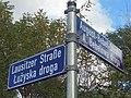 Bilinguale Straßenbeschilderung Cottbus.jpg