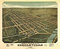 Birds eye view of the city of Circleville, Pickaway County, Ohio 1876. LOC 73694506.jpg