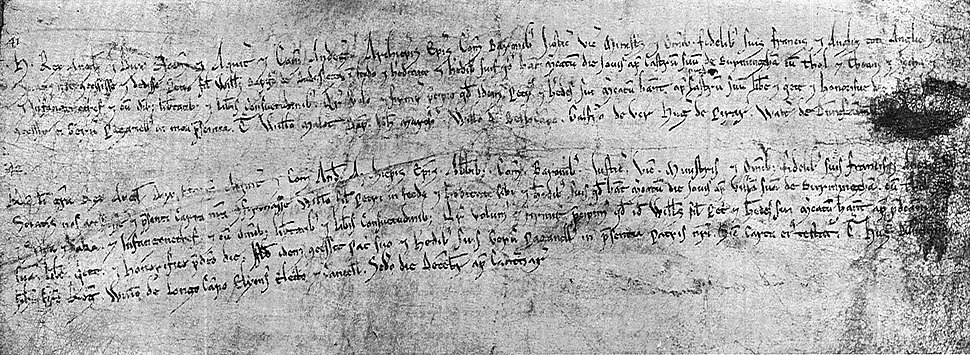 Birmingham Market Charters 1166 and 1189