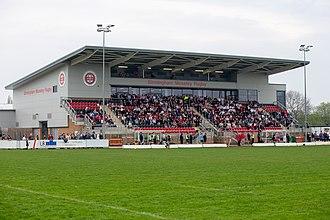 Birmingham Moseley Rugby Club - Birmingham Moseley Rugby Grandstand
