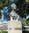 Portrait bust of Hans Christian Andersen, unveiled by the Crown Prince and Princess of Denmark