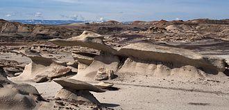 Bisti/De-Na-Zin Wilderness - More strange shapes in the Bisti Badlands