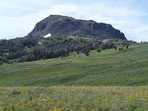 Gravelly Range - Black Butte Gravelly Range July 2013