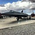 Black bird in Blackbird Airpark. Palmdale CA (8204657326).jpg