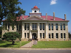 Johnson City, Texas - Blanco County Courthouse