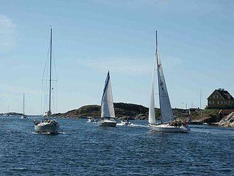Tjörn Municipality - Boats at Kyrkesund, Tjörn