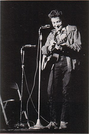 Folk rock - Bob Dylan in 1963.