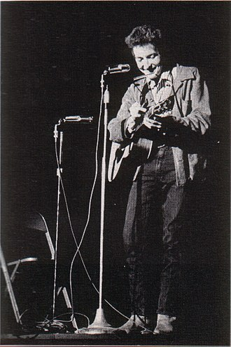 Bob Dylan - Bobby Dylan, as the college yearbook lists him: St. Lawrence University, upstate New York, November 1963