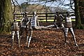 Bob Walter's stainless steel people at Arlington Court - geograph.org.uk - 2244743.jpg