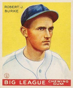 Bobby Burke - Image: Bobby Burke Goudeycard