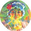 Boccioni - Ritratto della signorina Mini Fanna, 1916.jpg