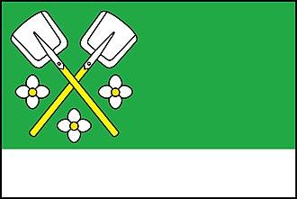 Bochovice - Image: Bochovice vlajka