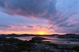 Bockholmssund Skärhamn Tjörn 2019 08 07 sunset 1099.jpg
