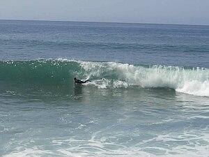 Surfing in Madeira - Paul do Mar beach, Madeira
