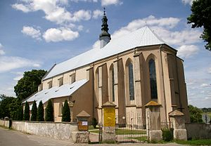 Bodzentyn - Parish church