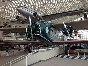 Museum of Flight - The Boeing Model 80A-1