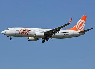 Gol Transportes Aéreos Flight 1907 - Image: Boeing 737 8EH, Gol Linhas Aereas Inteligentes AN2099495