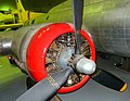 Boeing B-17G Flying Fortress (77233) engine detail, RAF Museum, Hendon. (49449941697).jpg