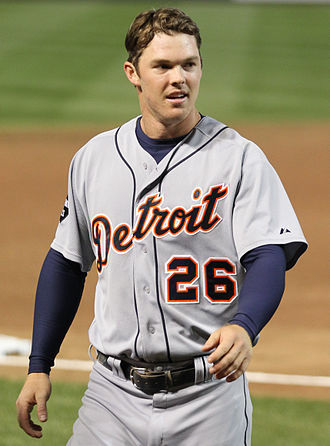 Brennan Boesch - Boesch with the Detroit Tigers