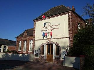 Boissy-Lamberville Commune in Normandy, France