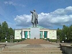 Boksitogorsk Lenin Square.jpg