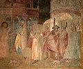 Bonaccorso di cino, storie dei santi donnino e lorenzo, 1340-50 ca. 03 donnino risana una donna morsa da un cane rabbioso 2.jpg